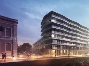 nieuw, residentieel, groot terras, geschilderd, eerste bewoning, spots, gordijnen, 2 grote slaapkamers op eiken parket, 2 badkamers, apart bad en apar