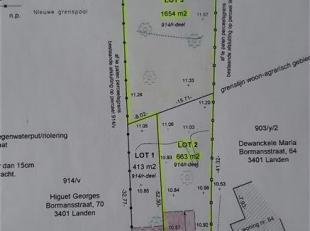 Terrain à vendre                     à 3401 Walshoutem