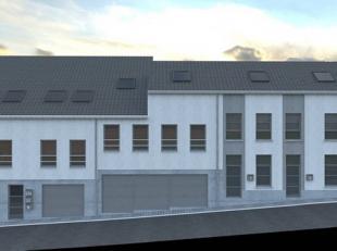 """Situé proche des facilités, immeuble comprenant 3 appartements et 4 garages vendus en état de """"gros-oeuvre fermé"""" compos&e"""