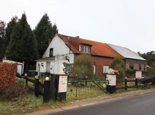 """Mooi gelegen bouwgrond met renovatie / afbraakwoning in de exclusieve villawijk """"Steenveld""""  langs de rustige Steenveldstraat 20, vlakbij het centum v"""