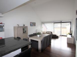RUIM, gezellig APPARTEMENT te huur te Halen, Zwarte Duivelstraat 10.<br /> Het appartement is gelegen op de derde verdieping en heeft een bewoonbare o
