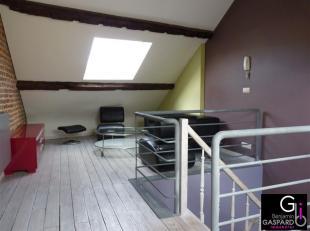 Appartement (triplex) en parfait état situé dans le centre de Marche-en-Famenne. Il comprend: hall, cuisine équipée, salle
