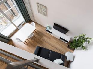 Modern gemeubeld duplex appartement ca 55 m² zeer centraal gelegen in de onmiddellijke nabijheid van het centraal station, openbaar vervoer en di