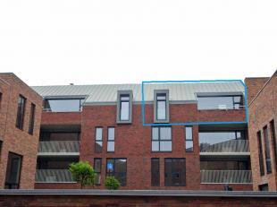 Prachtig penthouse - dakappartement met 2 slaapkamers, ruime living, met keuken , badkamer, apart toilet, ondergrondse autostaanplaats en aparte kelde