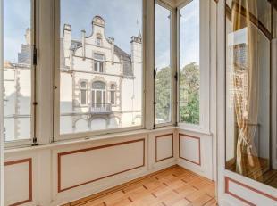 Majestueuse maison de Maître, style Art nouveau de larchitecte Victor Taelemans, très bien située dans le quartier Européen