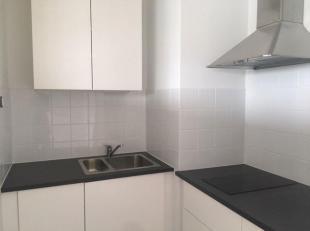 Mooie opgeknapte studio met living en slaaphoek, nieuw kitchinet en nieuwe badkamer.<br /> Aan de leefruimte is een ruim terras zuid-west georienteerd