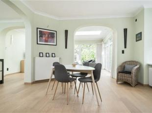 Belle villa dans un quartier résidentiel à un emplacement TOP!<br /> Cette maison récemment rénovée est à se