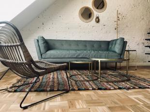 De rooftop duplex zoekt een gezellige sfeermaker die geniet van rust en karakter.· Een vernieuwbouw volgens de regels van de kunst · All