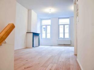 Een vernieuwbouw project met 4 appartementen in herenhuis aan Opera:<br /> · Verdiep GLV // 68m2 + 26m2 tuin // 1 SLP // 230.000€ (GEMEUBELD)<b