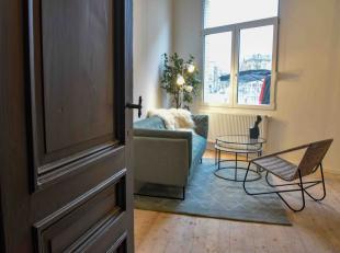 Appartement 001 - <br />  42m2 woonoppervlakte - <br /> · 8m2 terras<br /> · Gemeubeld door Monique Stam<br /> · 1 slaapkamer<br