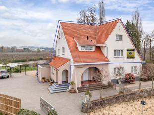 Zeer hoogwaardig en luxueus afgewerkt duplexappartement in een statige villa, met privatieve toegang. Dit ruim villa-appartement met veel lichtinval o