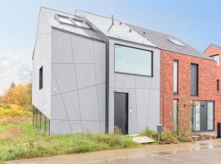 Collectiv4 Architects ontwierp deze bijzondere BEN woning in 2017. De afwerking is luxueus. Alles ademt sfeer uit. De leefruimte heeft grote raamparti