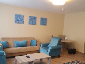Flexiebel huurkontract en lager prijsen vanaf 850€ in het hart van Brussel, een appartement gemeubileerd met Airconditioné ;een kamer, lounge,