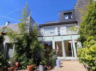 Très belle maison située dans le quartier résidentiel du Vert Chasseur. Maison coup de coeur, avec très beau jardin privat