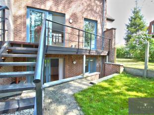 BOISFORT LIMITE BOONDAEL - Schitterend huis van ± 220 m² bestaande uit een hal, een ruime woon- en eetkamer, een volledig ingerichte open