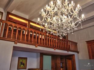 FRANKLIN ROOSEVELT : A voir absolument ! Prestigieuse maison de maître de ± 600 m² avec une longueur de façade de ± 10