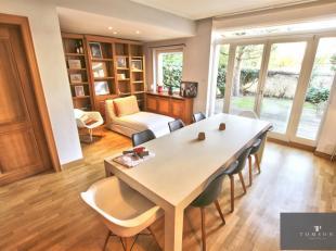 GRIBAUMONT - AV TERVUEREN - Een must see! Prachtig herenhuis van ± 250 m², in uitstekende staat en inclusief: inkomhal, salon / eetkamer v