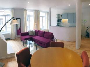 Arts Lois / Madou: Dans une maison de Maître, appartement de caractère complètement meublé avec 1 chambre sépar&eacu