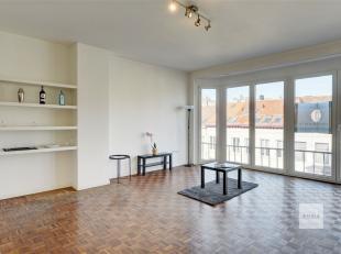 Zeer ruim en licht appartement met 2 skpkmrs centrum Antwerpen<br /> Ruime woonkamer (30m²) op kwalitatieve parketvloer. De hoge ramen zorgen voo