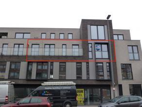 Ruim nieuwbouwappartement,  centraal gelegen op wandelafstand van het winkelcentrum. De oprit E313 is vlot bereikbaar.<br /> Indeling: inkomhal met ve