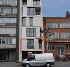 Appartement, uitstekend gelegen aan het kolonel Dusartplein, de bibliotheek, het winkelcentrum, de universiteit, het Kapermolenpark.<br /> Indeling: i