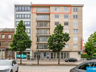"""Gezellig appartement met mooi uitzicht, zeer centraal gelegen op de """"groene boulevard""""  dichtbij winkels, openbaar vervoer... Het station ligt op 5' w"""