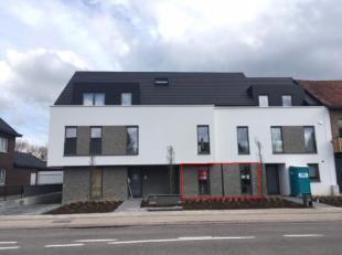 Beschikbaar vanaf 1.07.2019 - te bezichtigen via www.rzk.be<br /> <br /> Nieuwbouw appartement, 106 m², gelijkvloers, bestaande uit: hal, living