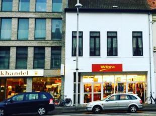 Schitterend gelegen winkelpand waar zicht momenteel de best draaiende Wibra bevindt van heel vlaanderen.Het pand gelegen in het beste deel van de stat