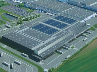 MALINES (quartier industriel nord) : Plusieurs milliers de m² d'entrepôts bâtis + surface bureau proche de 1.000m² (Re