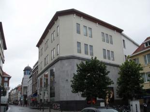 Loft Nr.1 - 3e verdieping, gelegen in het stadscentrum. Daglicht via ramen met dubbel.glas. Vloeren: polybeton. Hoogte plafonds ± 3,50m. Groot