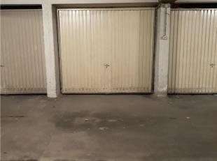 Ondergrondse garagebox n°18 gelegen in Residentie Unicum met inrit via de Abelenstraat.