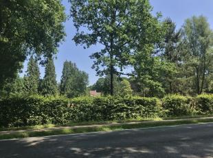 Uitzonderlijk groot, prachtig en groen gelegen villaperceel te Oud-Turnhout met een oppervlakte van4.799 m² en perceelsbreedte van66,30 m vooreen