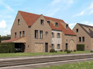 Project 'MERELHOF' te Heusden, Merelstraat<br /> WWW.TEKOOPHEUSDEN.BE<br /> <br /> DUPLEX-APPARTEMENT 2.2<br /> <br /> Gelijkvloers: inpandige garage,