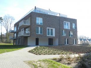 Genk : Gelegen op een mooi rustige locatie treft u dit zeer knap appartement met 2 slpks en zonnig terras. <br /> <br /> Het appartement situeert zich