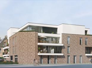 Zie ook www.tekoopdiepenbeek.be.<br /> Res. 'RODENBACH' te Diepenbeek, Rodenbachlaan-Rubenslaan: 14 fraaie appartementen met zongerichte terrassen/tui