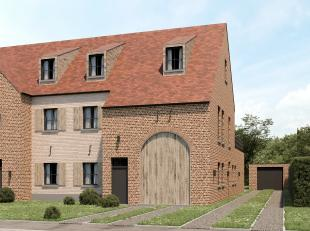 Project 'MERELHOF' te Heusden, Merelstraat<br /> WWW.TEKOOPHEUSDEN.BE<br /> <br /> DUPLEX-APPARTEMENT 3.2<br /> <br /> Gelijkvloers: inpandige garage,