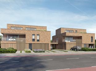 Residentie 'KRUISHOEK', hoek Ubbelstraat-Poelenstraat: 2 gebouwen met telkens 4 exclusieve nieuwbouwappartementen.<br /> <br /> BLOK 1 (links) Ubbelst