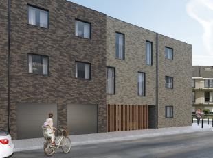 Zie WWW.TEKOOPLEUVEN.BE<br /> APPARTEMENT 1 in Res. 'CASTELLUM' te Kessel-Lo, Borstelsstraat-Kortrijksestraat (hoek)<br /> Gelijkvloers appartement me