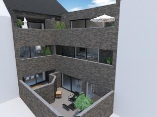 Zie ook WWW.TEKOOPLEUVEN.BE.<br /> APPARTEMENT nr. 2 in Res. 'CASTELLUM' te Kessel-Lo, Borstelsstraat-Kortrijksestraat (hoek).<br /> Gelijkvloers appa