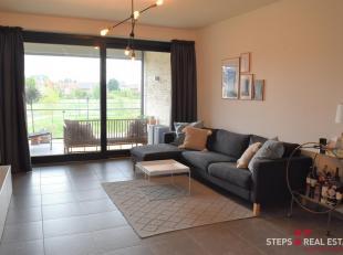 Dit nieuwbouwappartement is gelegen op de eerste verdieping en kan u bereiken via de passerelle.<br /> De indeling van het appartement is als volgt: r