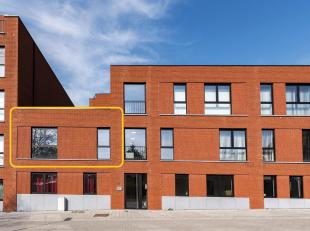 Dit pas opgeleverd nieuwbouwappartement met twee slaapkamers vinden we in Project 'De Blekerij'.Rustig gelegen vlak aan de Demer maar toch op wandelaf