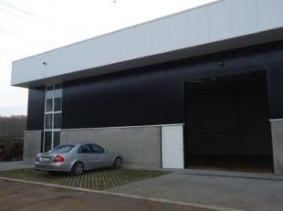 Bedrijfsruimte unit B22 met een opp. van 293 m² gelegen op het bedrijventerrein Zuiderpark Genk - Nieuwpoortlaan, dit terrein met een totale opp.