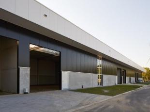Nieuwbouw bedrijfshal unit A5 met een opp. van 160 m² gelegen op het bedrijventerrein Zuiderpark Genk - Nieuwpoortlaan, dit terrein met een total