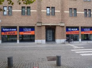 Goed gelegen kantoorruimte groot 98 m² met uitbreidingsmogelijkheden tot 650 m² hoek Demerstraat en kleine ring aan de Kempische Poort. Goed