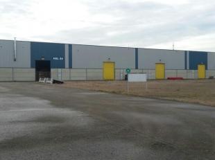 Bedrijfshal groot 2.400 m² met een minimum uitbreiding van 2.500 m² en maximaal 7.200 m² gelegen op het industrieterrein Genk-Zuid, nab