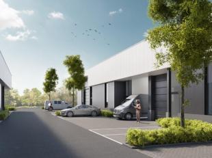 Nieuwbouw bedrijfsruimte unit6 met een opp. van 119 m² en 2 parkings gelegen op de bedrijvenzone Schoonhees te Tessenderlo ontwikkelt Futurn een