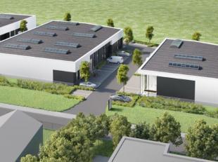 Nieuwbouw bedrijfsruimte unit8 met een opp. van 140 m² en 2 parkings gelegen op de bedrijvenzone Schoonhees te Tessenderlo ontwikkelt Futurn een