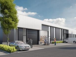 Nieuwbouw bedrijfsruimte unit 17 met een opp. van 106 m² en 1 parking gelegen op de bedrijvenzone Schoonhees te Tessenderlo ontwikkelt Futurn een