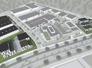 Projectgrond voor kantoorgebouw met evtl. werkplaatsen OP MAAT, op een perceel van 4.757 m² gelegen langs de Herkenrodesingel 10 in het Bedrijven