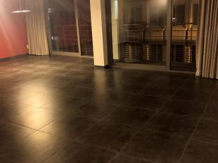 Ruim appartement aan de Italielei te huur voor 900 euro + 90 euro kosten (onderhoud gemeenschappelijke delen, minuterie, lift en syndicus). Elektricit